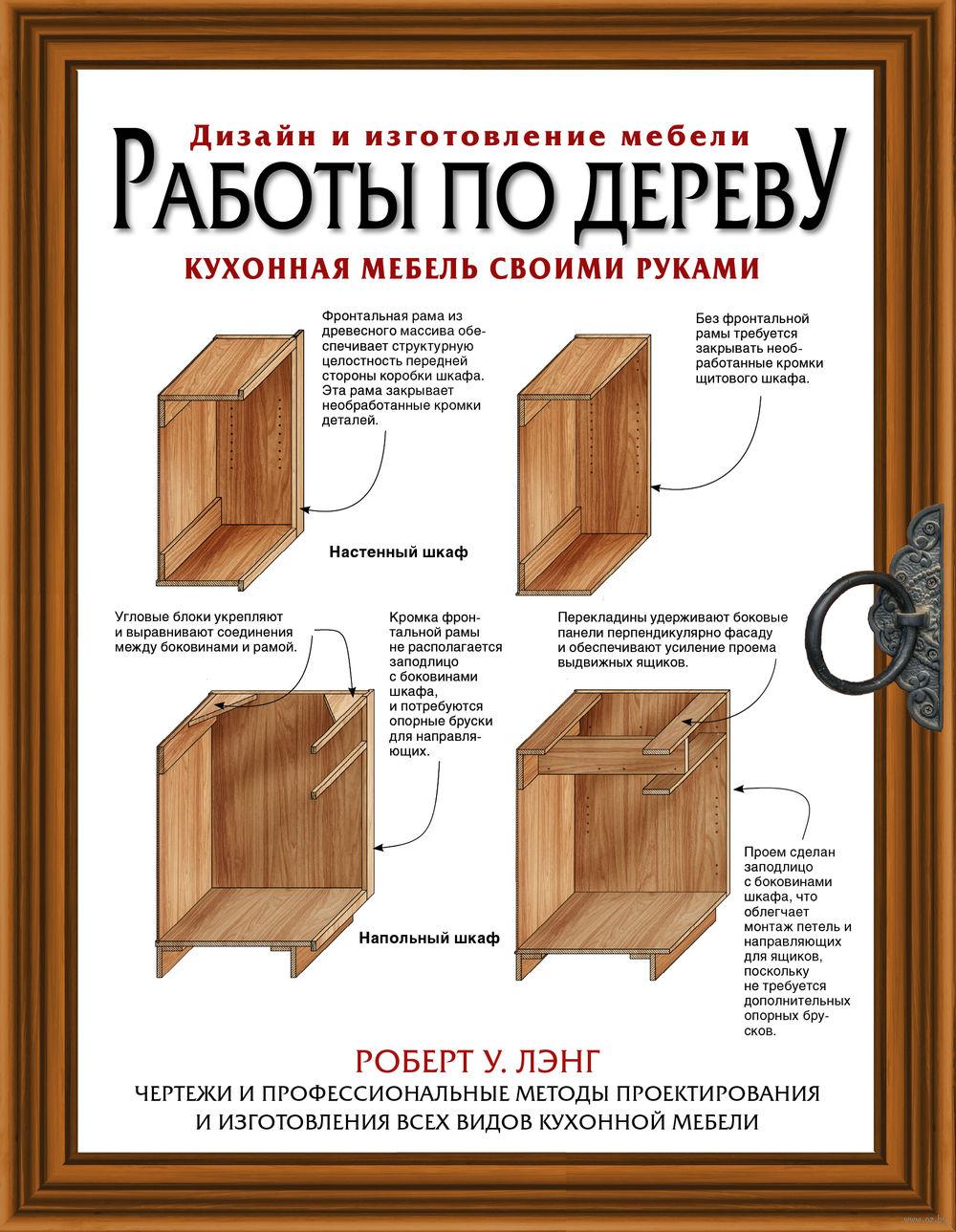 Изготовление шкафа из дерева своими руками